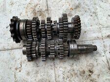 Yamaha RD350 Used Engine Gear Box Gear Cluster Main Shaft Lay Shaft