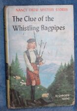 Nancy Drew Mystery Stories the Clue of the Whistling Bagpipes HB 1964