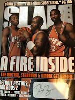 Stephon Marbury Signed Slam Magazine 100% Authentic NBA Knicks Suns Wolves china