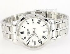 Tissot T0334101101301 Dream Men's Swiss Quartz Watch White Dial with Roman - NEW