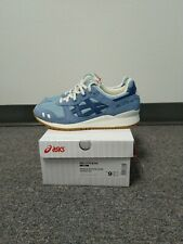 New Asics Gel-Lyte III OG Smoke Blue 30th Monozukuri Sz 9 patta kith burz rose