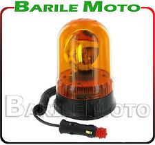 LAMPEGGIANTE GIROFARO 12 V BASE MAGNETICA / VENTOSA TRATTORE - AGRICOLO
