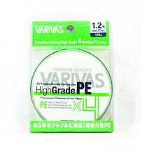 Varivas P.E Line High Grade X4 Braided Line 150M Green P.E 1.2 21lb (7682)