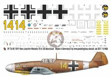 Peddinghaus 1/48 Bf 109 F-4/Trop Markings Hans-Joachim Marseille Egypt 1942 734