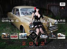 GIRLS & LEGENDARY US-CARS 2012 Wochenkalender von Carlos Kella, OVP, signiert