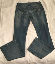 Miss Me Jeans Women's JP4503 Boot Distressed Denim Great Pockets Size 27