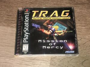 T.R.A.G.Tactical Rescue Assault Group Playstation 1 PS1 Complete CIB Authentic