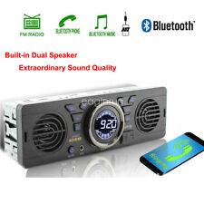 FM Bluetooth In-Dash 12V Speaker USB MP3 Player AUX Car Radio Stereo SD 1 Din TF