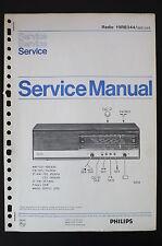 Philips Radio 19RB344 Original Manuels de Reparation/Manuelle/Amplificateur !