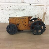 Vintage Tinplate Tri-ang Tractor No.2. Clockwork. One Wheel Missing