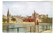 Inverness Castle And Bridge - Photo Postcard 1947