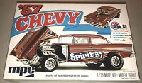 MPC 1957 Chevy Bel Air Spirit of 57 1:25 scale model car kit new 904