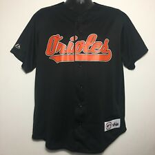 a7c3ac697 Vintage Majestic Genuine Merchandise Baltimore Orioles Black Mesh Jersey  (Large)