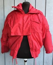 SERAC SKI SNOWBOARD JACKET Kid Sz 8 Womens XS Insulated WeatherProof Red GoreTex