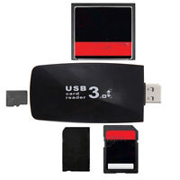 USB 3.0 All in1 Flash Memory Card Reader Adapter for  TF CF SB TS