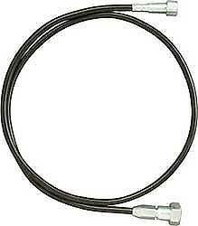 Lokar 7' U-Cut-To-Fit Speedometer Cable with Black Steel Housing