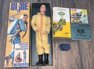 1964 gi joe action pilot vintage with box 7800
