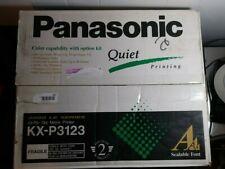 Panasonic KX-P3123 quiet 24-pin dot matrix printer NEW in open box ink ribbon