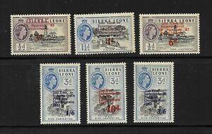 Sierra Leone Stamps MNH/OG