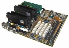 Soyo SY-D6IBA Dual Slot1 2 x Pentium II 350Mhz 512Mb RAM ECC Vintage SCSI BX ISA