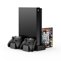Venom Xbox One Vertical Charging Stand with 2 Rechargeable Battery Packs VS2861R