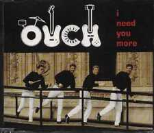 OUCH I NEED YOU MORE UK 3 TRACK CD SINGLE FREE P&P