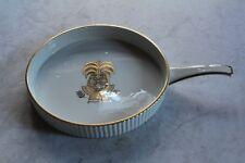 Georges Briard Ambrosia Ovenware Round Pan Stoneware Round Gratin Gold Pineapple