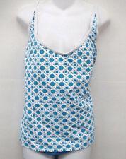 JAG PLUS SIZE Blue Pattern Tankini Swimsuit 20 22 Cup C D NEW
