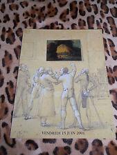 Catalogue de vente - Hôtel du Palais, Poulain/Le Fur - Tableaux anciens 2001
