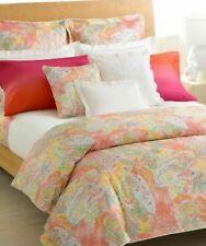Gorgeous Ralph Lauren JAMAICA Paisley Coral QUEEN BEDSKIRT
