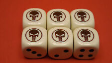 The Punisher Heroclix Dice Set 3 Pair D6