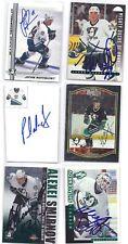 Alexei Smirnov Signed Hockey Card Anaheim 2002 Bowman
