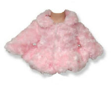 "Soft Pink Fur Jacket Coat  for 18"" American Girl Doll Clothes Best Selection!"