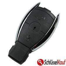 Mercedes Benz Autoschlüssel 2 Tasten Gehäuse CHROM W203 W204 W211 Fernbedienung