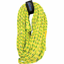 Cwb Connelly 60-Foot 5/8-Inch Braided Floating 4-Rider Tube Rope, Volt Green