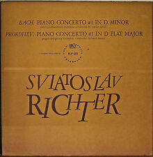 BACH/PROKOFIEV: Piano Concerto-M1960LP SVIATOSLAV RICHTER HEAVY GATEFOLD COVER