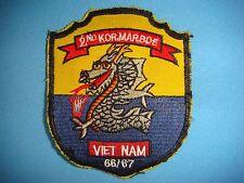 KOREA WAR YE PATCH, 2nd REPUBLIC OF KOREA MARINE BRIGADE 1966-1967
