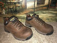 Carolina Men's Lytning Carbon Composite Safety Toe ESD Oxford Shoes Size 8 W