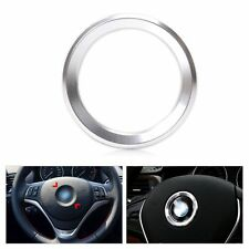 Silver Car Steering Wheel Decoration Ring Cover for BMW 3 5 7 Series E81 E87 F30
