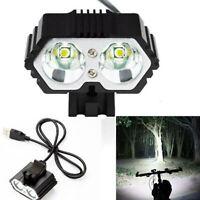 8000 LM XM-L T6 LED USB Fahrrad Scheinwerfer Wasserdichte Lampe