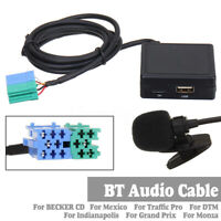 bluetooth USB MIC Receiver Adaptor Cable For BECKER For Mexico For Traffic Pro