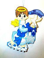 "Large 32""Baby Boy Baptism Baby Boy Hangable Foam Wall Decoration Bautizo Boy"