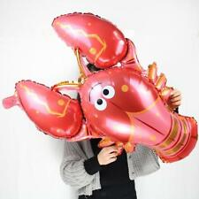 Huge Red Lobster Foil Balloon Kids Birthday Party Decoration