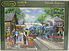 "Falcon de Luxe Puzzle 1000 Teile  ""Steam Express""  Kevin Walsh"