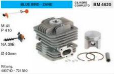 CILINDRO E PISTONE DECESPUGLIATORE BLUE BIRD ZANE M 41 M 410 TRIVELLA 39 Ø 40 mm