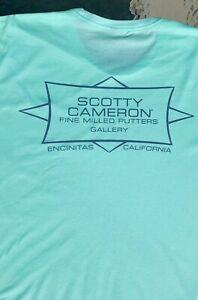 Scotty Cameron NEW Gallery SHAPER Crewneck T-Shirt CIRCLE T  *MINT GREEN* XL🏄