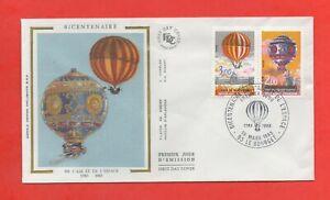 FDC 1983 - Bicentenaire de l'air et de l'espace - 1783-1983  (1530)