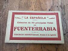 More details for la espanola 20 principales vistas de fuenterrabia ( postcard book )