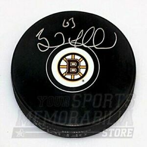Brad Marchand Boston Bruins Signed Autographed Bruins Hockey Puck