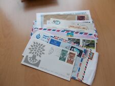 Middle East - Approx 22 airmail / commercial covers & FDC's. See pics below.